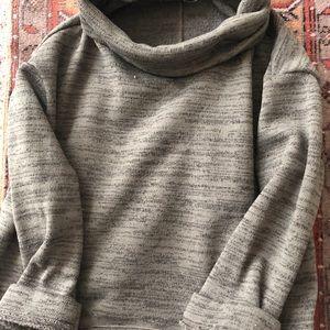 Anthropologie cowl neck sweater medium
